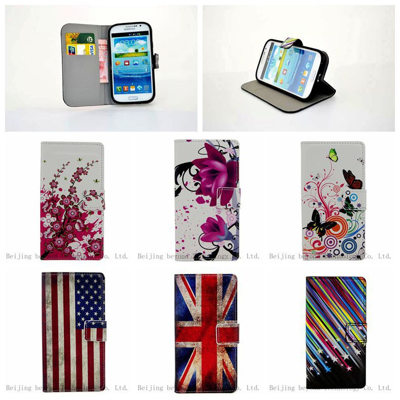 Color Wallet Leather Case Samsung Galaxy Grand Duos i9082 i9080 GT-I9082 Phone Neo i9060 i9062 Plus i9060i Bags - Beijing beyond Technology Co. Ltd. store