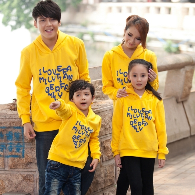 Family fashion 2013 spring and autumn family set family pack mother and child clothes for mother and daughter sweatshirt