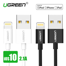 [For MFi iPhone Cable iOS 10],Ugreen USB Cable for Lightning to USB 2.1A Fast USB Charger Cable for iPhone 7 6 6s iPad mini 2 3
