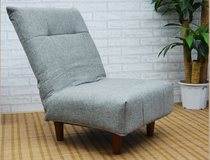 Modern Fabric Japanese Sofa Furniture Single Foldable Sofa Chair Armless Lounge Recliner Living Room Occasional Accent Chair<br><br>Aliexpress