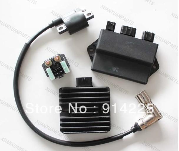 aliexpress buy hisun 700 4x4 utv cdi box ignition coil starter relay regulator