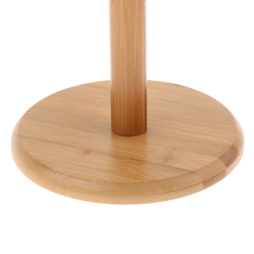 Бамбуковая кружка подставка из дерева с 6 Крючки для хранения и сухой Большой Bamboo Mug Tree Rack Stand with 6 Storage Hooks Hold and Dry Large Coffee Mugs or Cups