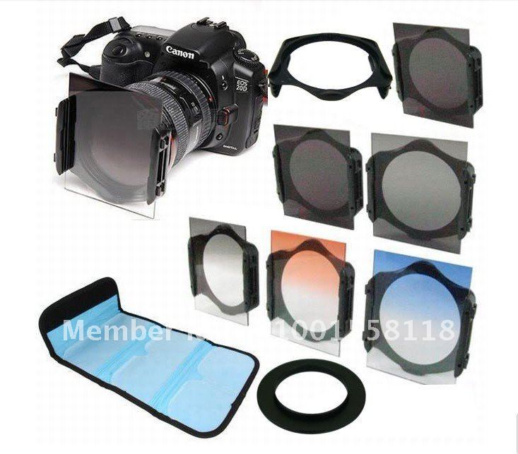 67mm ring adapter  +ND2/ND4/ND8/+Graduated Orange/Blue Filter f Cokin P series<br><br>Aliexpress