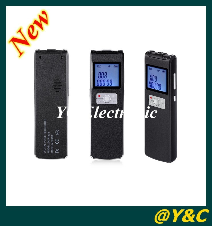 2014 New 8GB digital voice recorder 100m remote wirless voice  recording 350h super long time continually recording 1500mah<br><br>Aliexpress