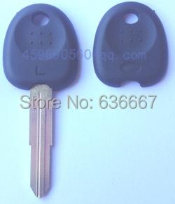 KL19 hyundai transponder key shell high quality car key blank(China (Mainland))
