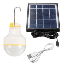 Waterproof Solar Power 2W 2835 SMD LED Globe Light Lamp Low Power Solar Panel Camp Night Fair Travel Fishing 220V Outdoor/Indoor(China (Mainland))