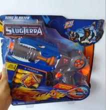 1 шт. OPPO мешок пакет Slugterra поколения 2 игра пушки. Slugterra бластер. Мультфильм Nerf gun. Пули терра. Бесплатная доставка