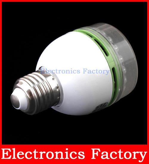 3w sound motion sensor control activated 50 led white light lamp bulb. Black Bedroom Furniture Sets. Home Design Ideas