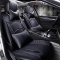 New 3D Car Seat Cover Sports Styling Senior Leather Car covers Cushion For All Car Sedan