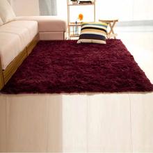 60*120CM/80*120CM/120*160CM Soft Big Carpets for Bedroom strip Bedside/strip/non-slip Purple/Silver-gray/pink/ red, blue(China (Mainland))