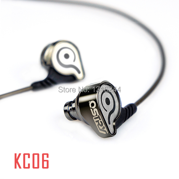 Free Shipping new original Ostry kc06 in ear earphones hifi bass stereo for mp3 mp4 mobile phone<br>