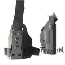Arrivals Tactical hunting accessories Safariland style Military Leg Airsoft gun Holster GLOCK 17 19 22 23 31 32 - Hawkeye Sport Store store
