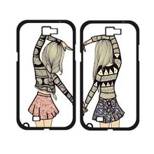 Buy Two Girls Best Friends Cover Case Samsung Galaxy A3 A5 A7 J1 J5 J7 2016 Prime E5 E7 Core Prime Grand Prime Grand Neo Alpha for $3.68 in AliExpress store