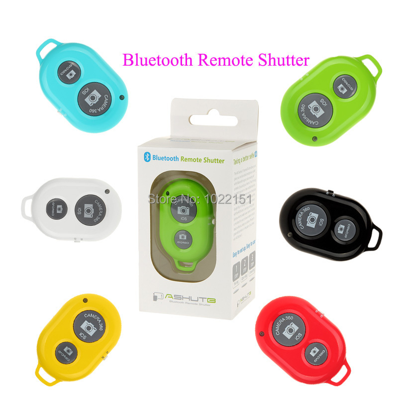 Bluetooth Camera Shutter Self-timer Remote Control for iPhone Samsung HTC Sony Moto iOS / Andriod Free Shipping(China (Mainland))