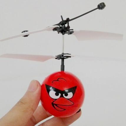 Обновление Лучшая Цена и Качество 2016 Летать Флэш Мяч Дистанционного Управления RC Игрушки Гадкий я Миньон Вертолет Quadcopter Drone Ar. drone