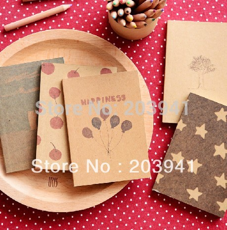 NEW vintage paint pattern ver2 Notebook / Paper Notepad / blank inner page book free shipping/wholesale<br><br>Aliexpress