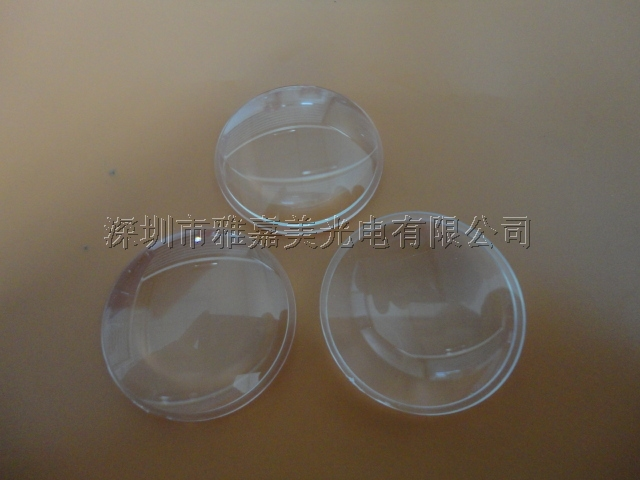 Wholesale- power LED lens 27MM Double convex lens,LED optical lens,PMMA lens(China (Mainland))