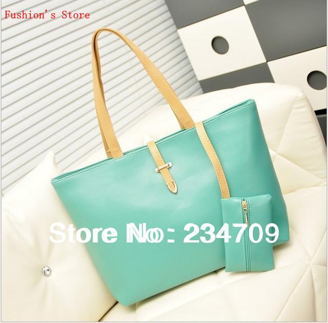 Free shipping,hot!2014 bag new female bag Hot sale candy color trend vintage messenger bag women's handbag leather shoulder bags