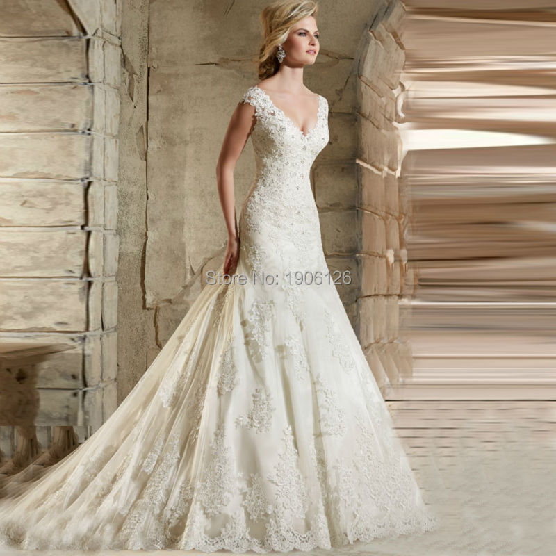 Civil elegant wedding dresses turkey lace bridal gowns for Wedding dresses for civil wedding