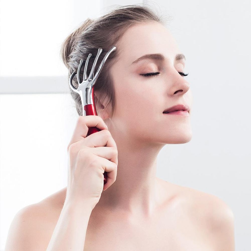 ABS Electronics Head Massage Scalp Massage Device Finger Head Massage Instrument Body Massager Machine(China (Mainland))