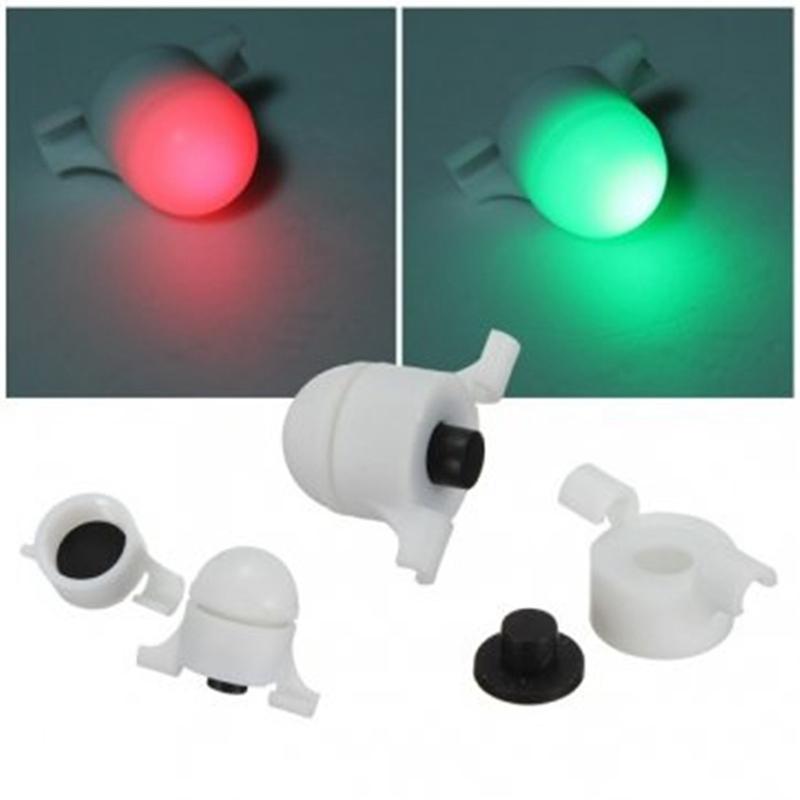 Hot Waterproof Sea Coarse Fishing LED Rod Tip Night Light Strike Alert Glow Stick Bite Alarm Glow Warning New(China (Mainland))