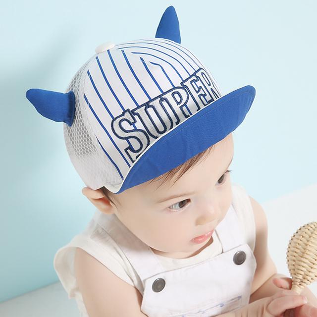 Ребенок шляпа для детей мальчик девочка бейсболка глаза уши стиль малолетними детьми сетка шляпы регулируемая Snapback подогреватели-новые малышей солнца Casquette