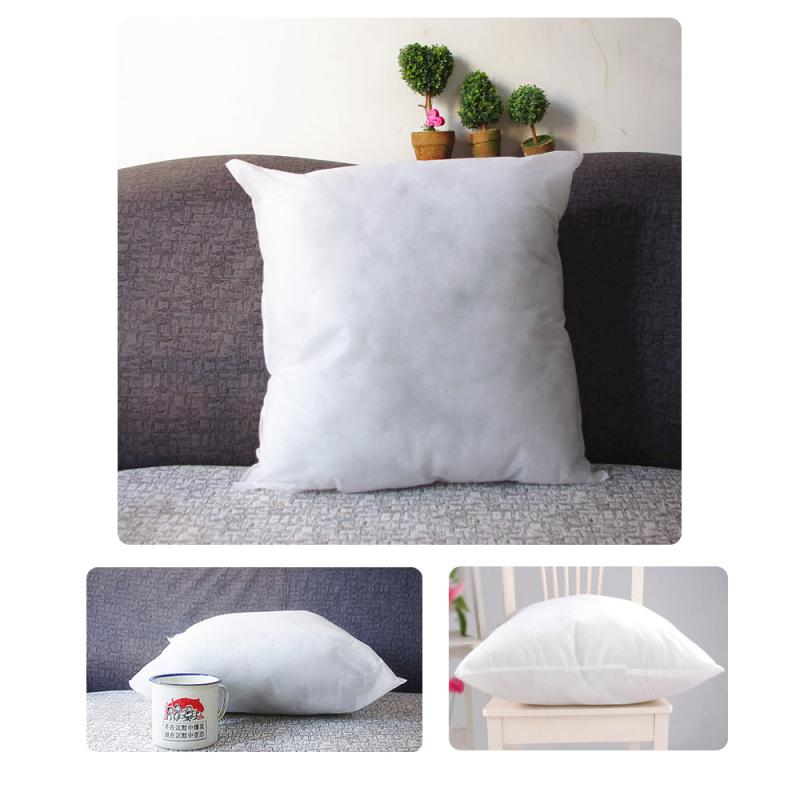 Throw Pillow Fillers : 40X40 cm Throw Pillow Inner PP Cotton filler very soft Pillows Core pillow interior cushion ...