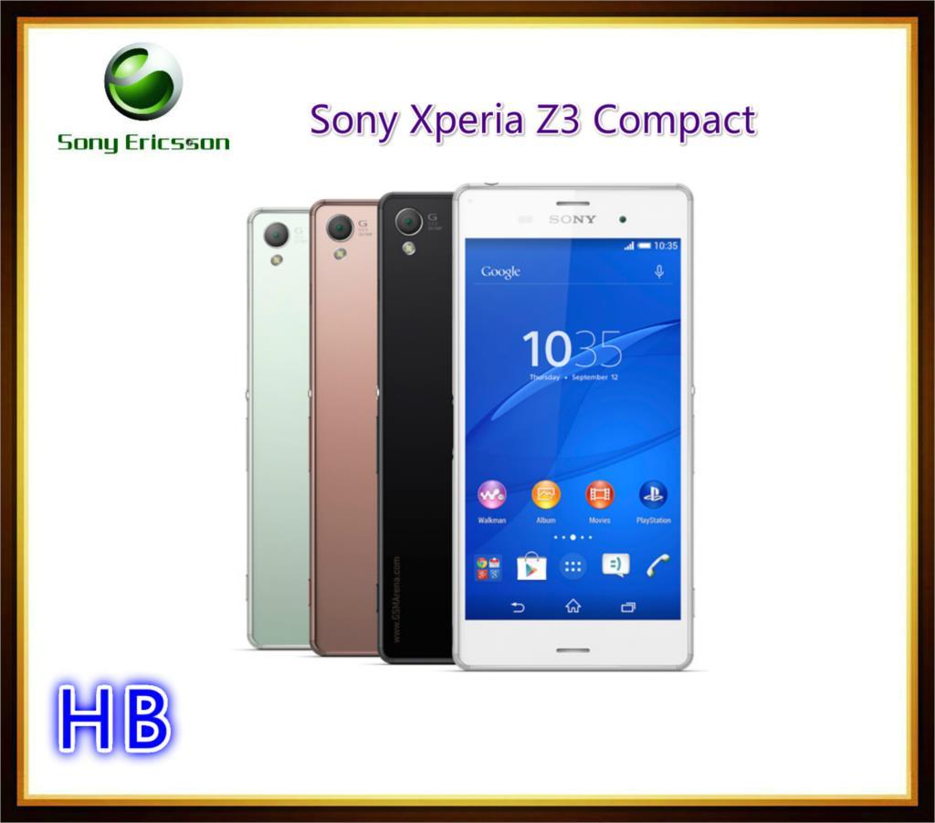 Мобильный телефон Sony XPERIA Z3 D5833 4.6' 20.7mp 16 GB Sony XPERIA Z3 мобильный телефон sony l55t xperia z3 4g
