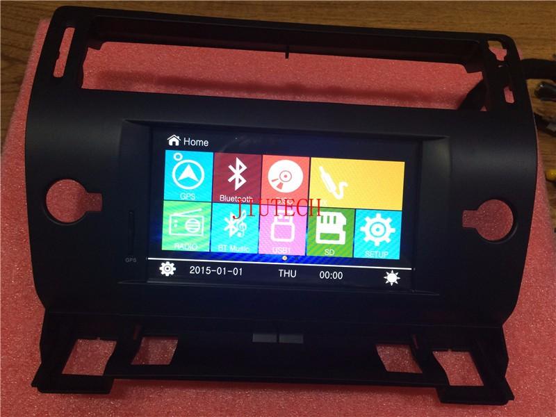Car Stereo for Citroen C4 C-Quatre C-Triumph Autoradio DVD Player GPS Navigation(China (Mainland))