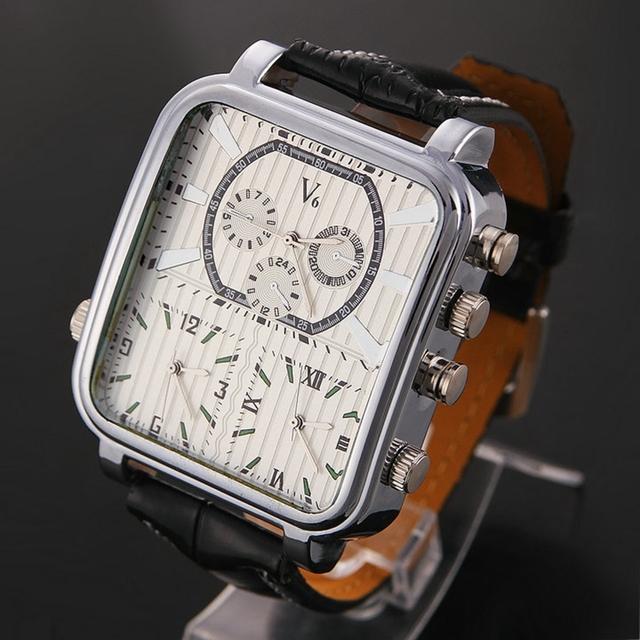 Zegarek męski V6 luksusowy wyjątkowy design różne kolory