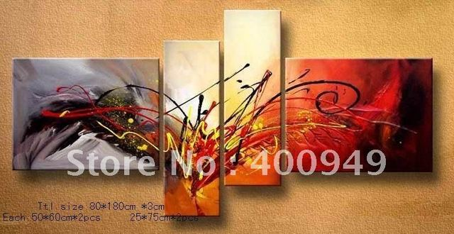 Free Shipping!!High Quality Modern Abstract Oil Painting on Canvas Art home decoration christmas gift 556 picture on wall