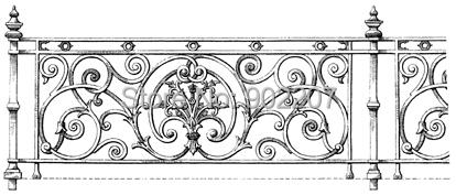 Ferro forjado decoração ferro grade de ferro grade de aço corrimão balaustradas trilhos de metal cercas de ferro(China (Mainland))