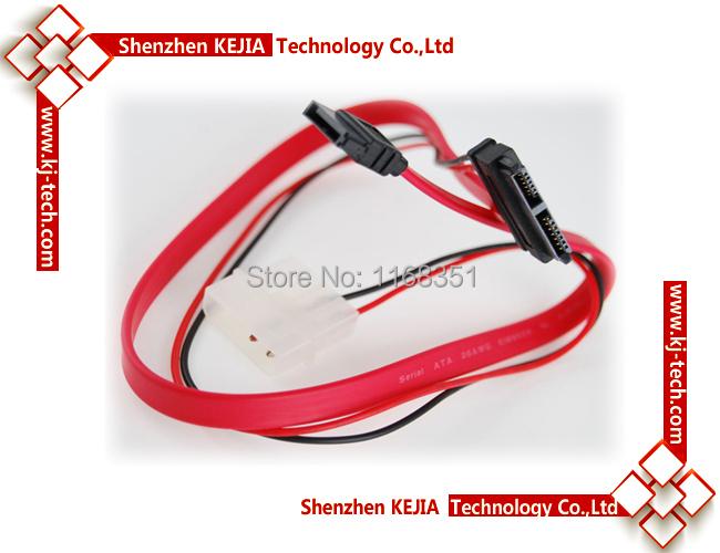 Slimline SATA 7+6pin Cable Slim Optical Drive to 7pin SATA Free shipping Optical Drive Burner Cable for HTPC Mini PC(China (Mainland))