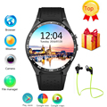 KW88 smart watch Android 5 1 OS MTK6580 CPU 1 39 inch Screen 2 0MP camera