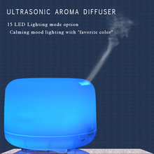 Sensky 500ml LED Color Changing Mist Maker Ultrasonic Essential Oils Aromatherapy Diffuser Ultrasonic Air Humidifier BS007(China (Mainland))