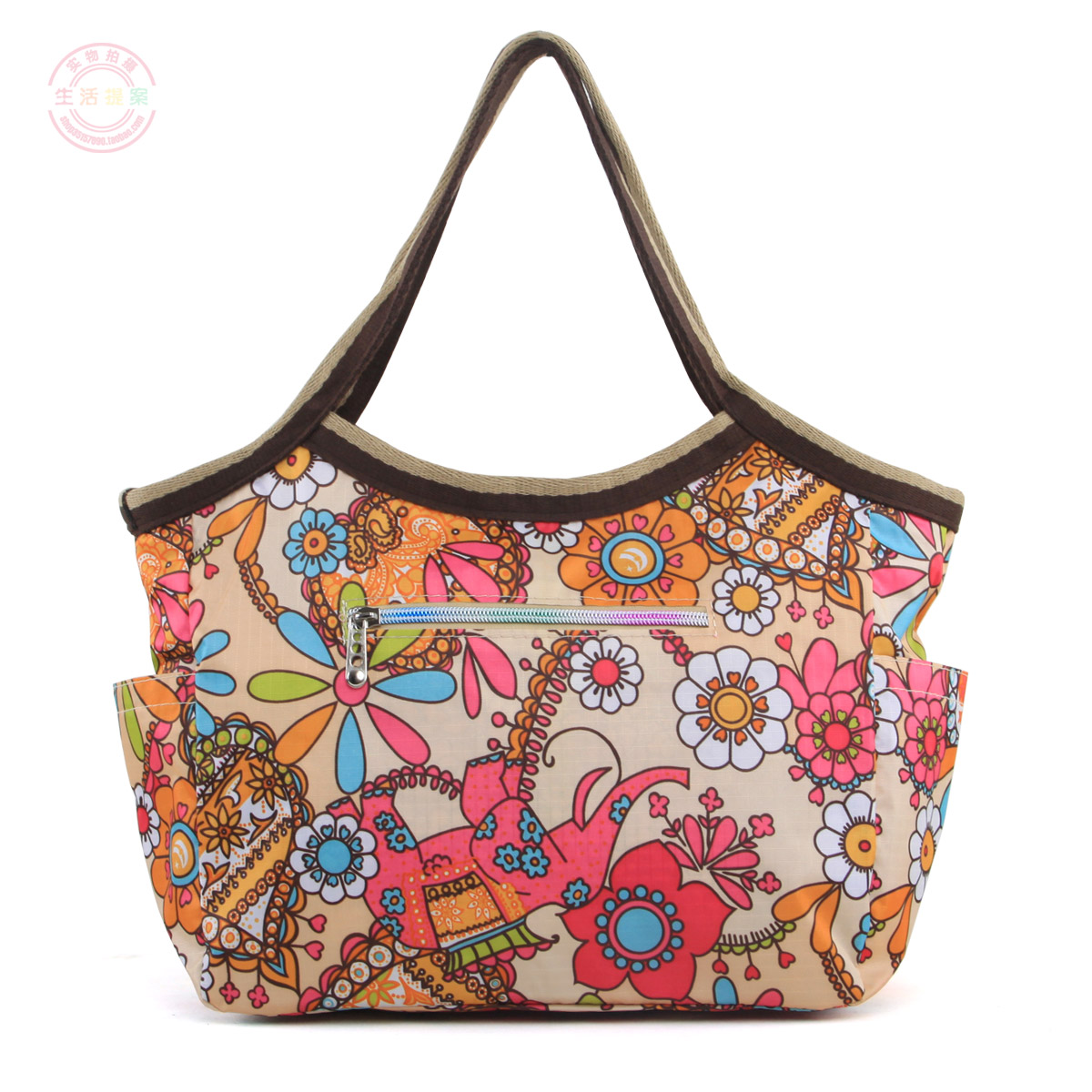 2012 waterproof nylon one shoulder handbag dumplings female Large fashion women's db32 - Brand discount store- store
