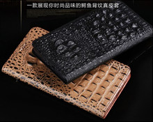Crocodile pattern genuine leather flip cover case ZTE Nubia Z9(5.2') phone Z9 free shiping - XQTC store