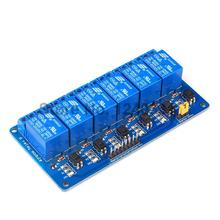 Buy 10PCS Blue 6 Channel 5V Relay Module Low Relay Module Board Arduino PIC AVR MCU DSP ARM for $48.24 in AliExpress store