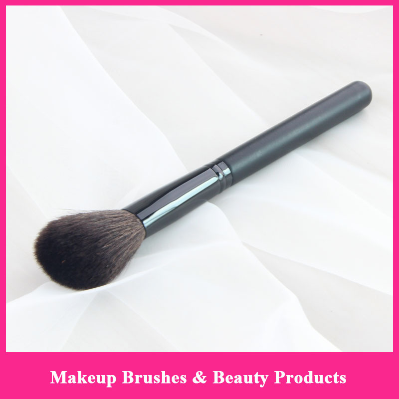 Black Mary Make Up Brushes Soft Goat Hair Maquiagem Pinceis Professional Makeup Brush Beauty Kay Blush Brushes(China (Mainland))