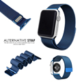 For Apple Watch iwatch bands Luxury Milanese Magnetic Clasp Strap Watchband Classic With Connector Adapter