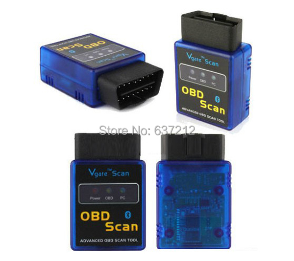 V1.5 Mini OBD-II OBD2 ELM327 Scan Bluetooth Vgate Diagnostic Scanner/OBD Code Reader(China (Mainland))
