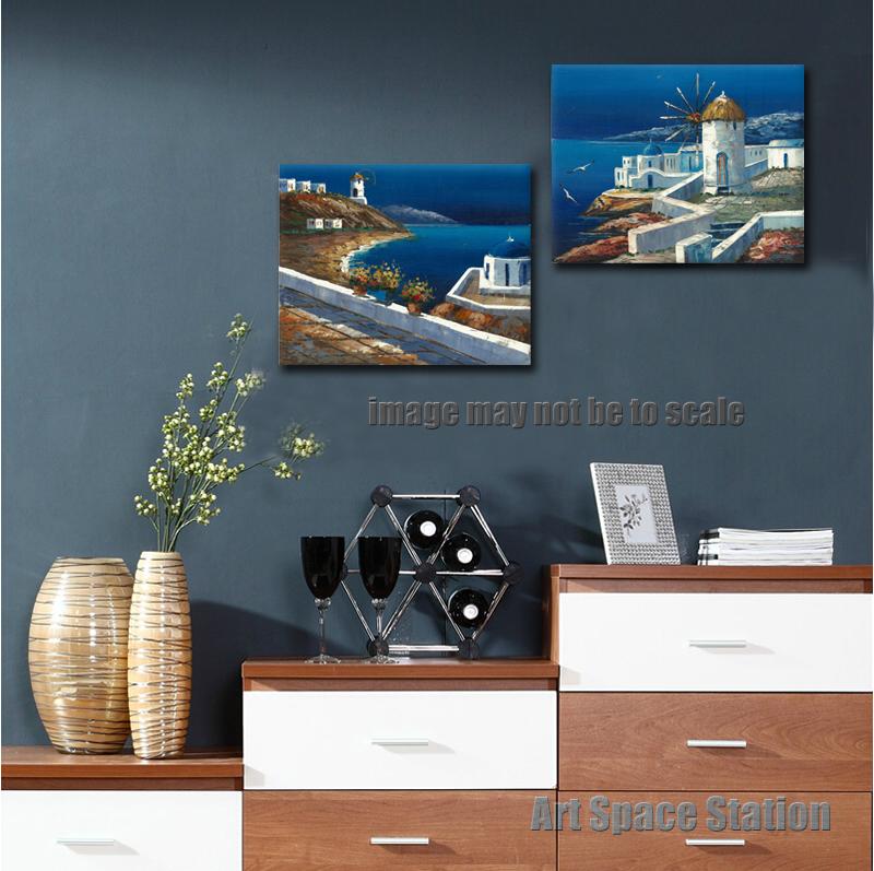 Zee olieverf koop goedkope zee olieverf loten van chinese zee olieverf leveranciers op - Muur decoratie ontwerp voor woonkamer ...