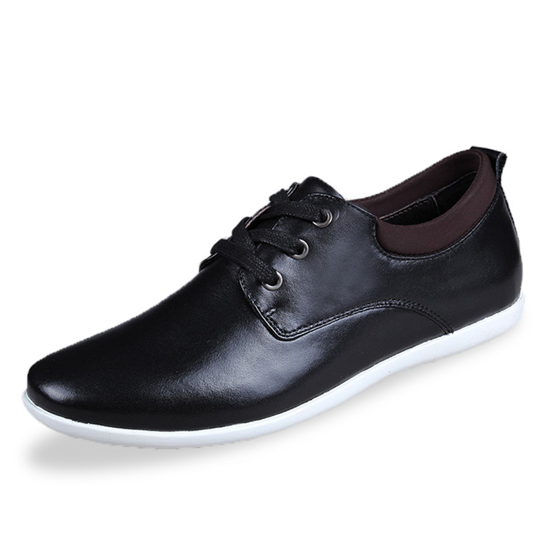 2015 genuine leather shoes breathable shoes