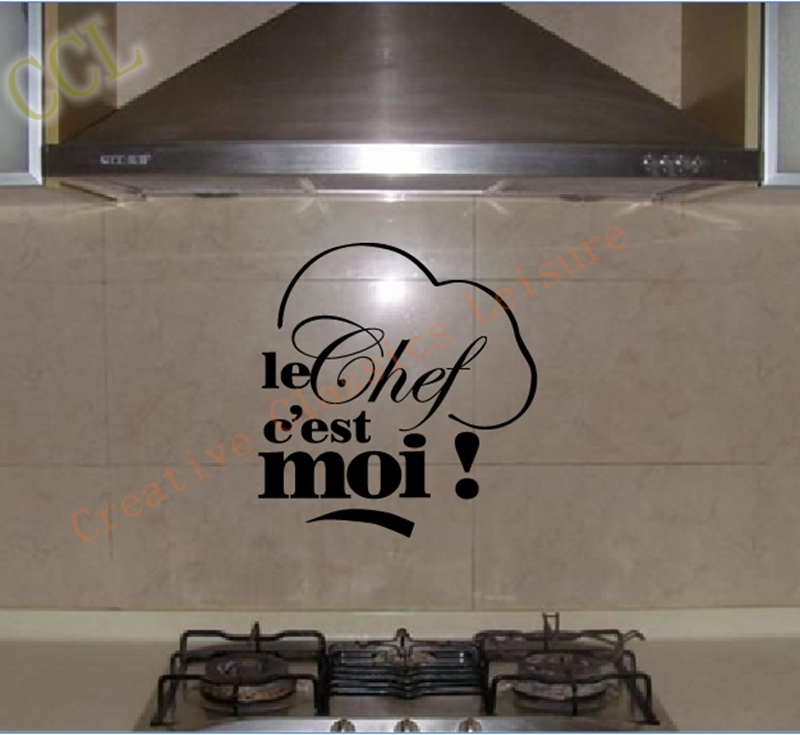 stickers cuisine decor french vinyl wall stickers. Black Bedroom Furniture Sets. Home Design Ideas
