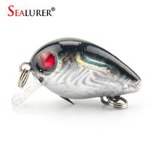 1 PCS Crankbait Plastic Wobbler Fishing Lure Sale 3CM 1.5G Swimbait Pesca Isca Artificial Bait 10# Hooks Fishing Tackle