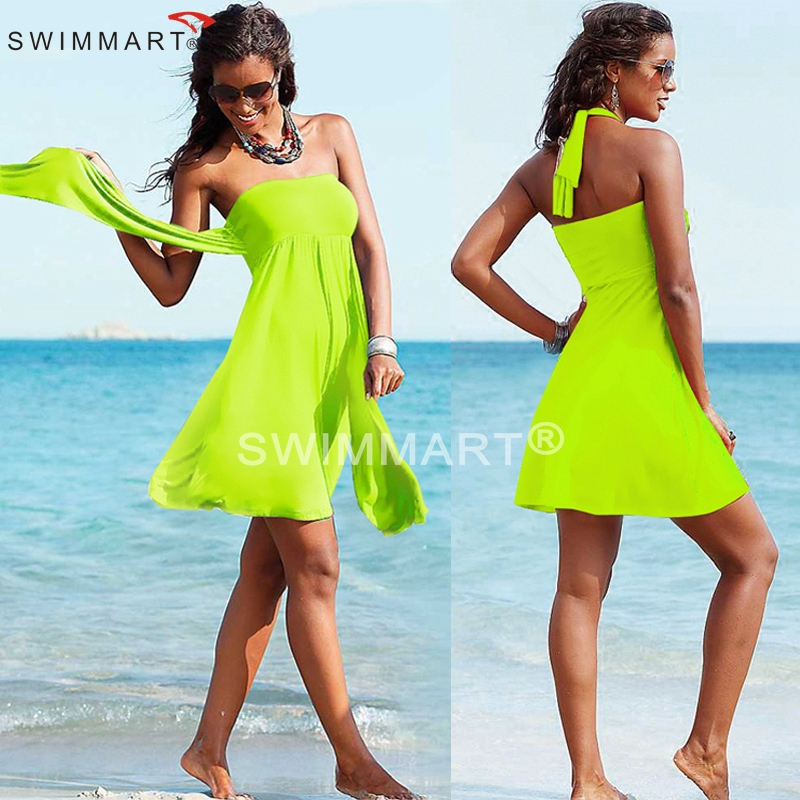 Vintage Designer Hot Convertible 2015 Multi wears infinite Women Summer Beach dresses 12 Colors(China (Mainland))