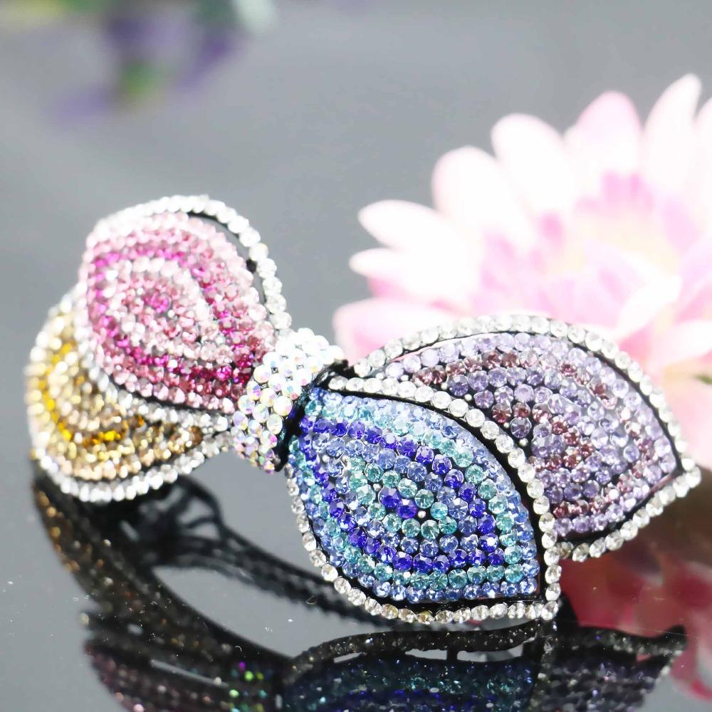 40*94mm Hairpin Hair Clip Accessory Headband Head Bands Wedding Headdress For women Girls Gifts Jewelry Making Bowknot(China (Mainland))