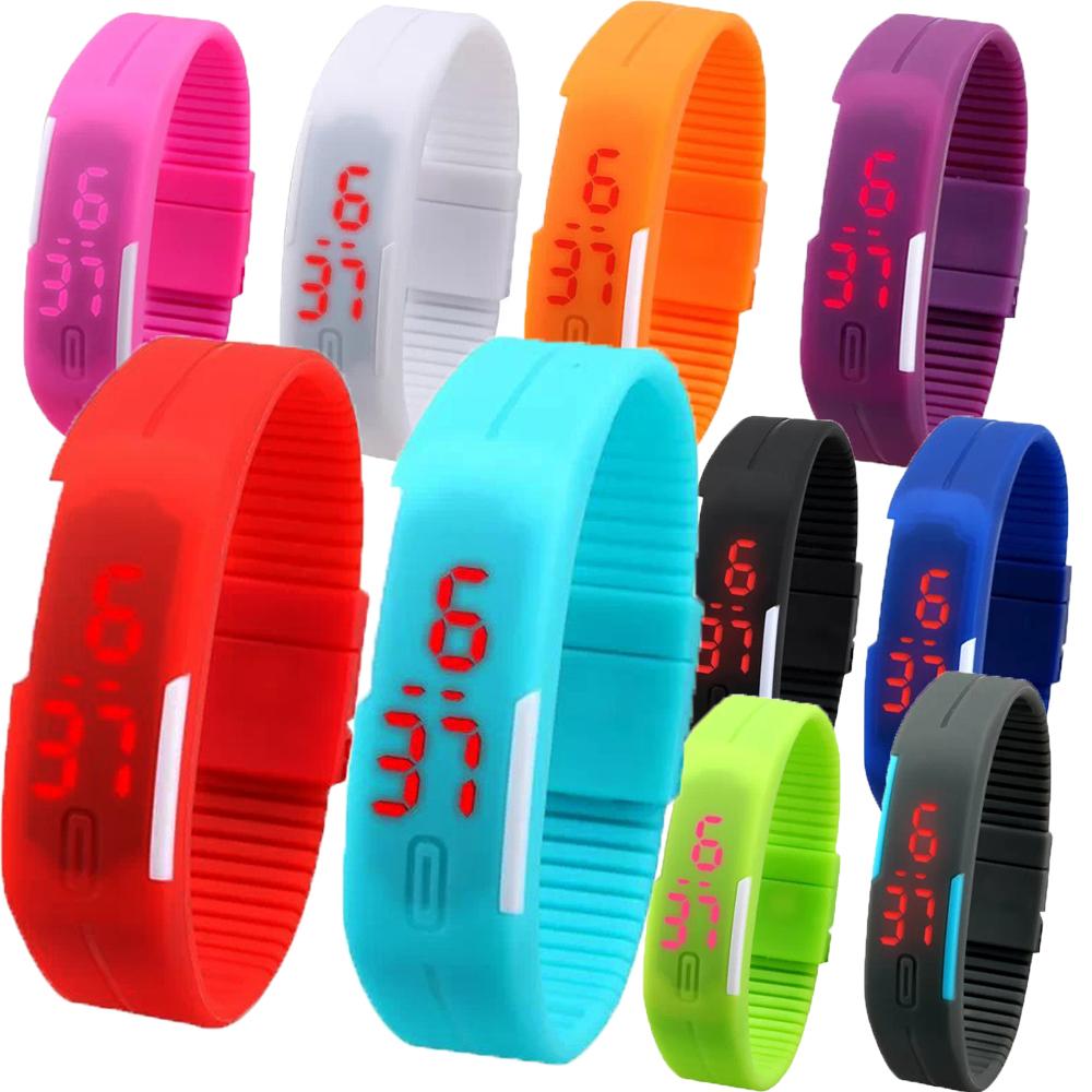 Women Men LED Watch Casual Watch Women Silicone Rubber Touch Screen Digital Bracelet Watch Relojes Feminino Relojes Masculine(China (Mainland))