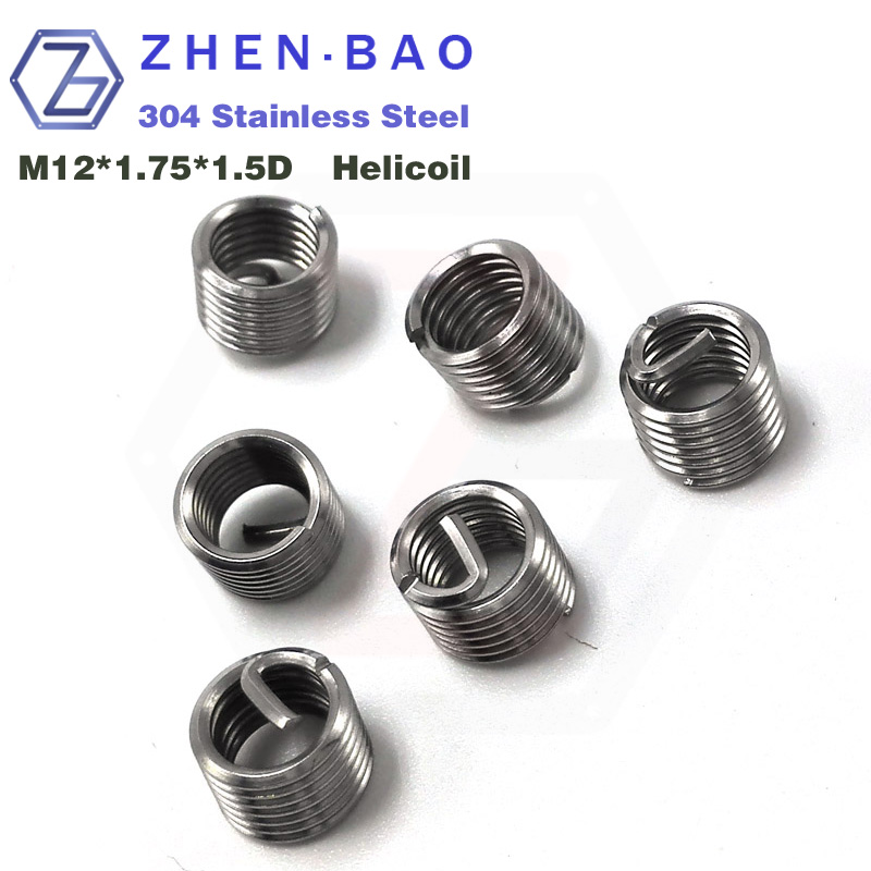 Гаджет  m12*1.5D , 30pcs/lot , screw thread helical coil , 304 thread inserts corrosion resisting steel  None Аппаратные средства