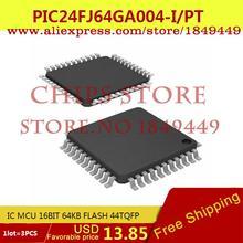 Integrated Circuit PIC24FJ64GA004-I/PT IC MCU 16BIT 64KB FLASH 44TQFP PIC24FJ64GA004-I 24FJ64 PIC24FJ64 - Chips Store store